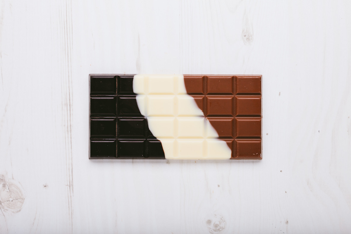 Dark milk white choc u beaulieu chocolate studio